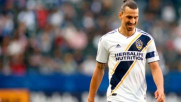 Ибрагимович оштрафован за нелепую симуляцию в матче MLS. Видео