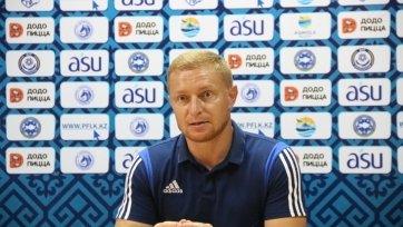 Карпович: «Везение сегодня также было на нашей стороне»