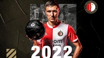 Полузащитник сборной Нидерландов продлил контракт с «Фейеноордом»