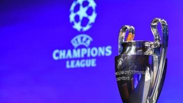 Сегодня жеребьевка раунда плей-офф Лиги чемпионов
