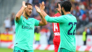 Азар забил первый мяч за «Реал». Видео