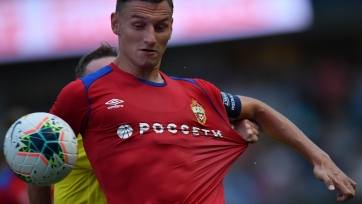 ЦСКА отказал «Кристал Пэлас» по трансферу Чалова