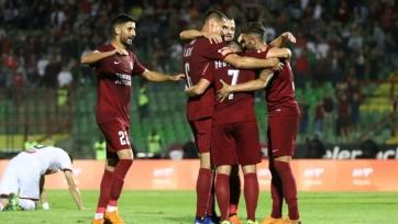 Был прерван матч Лиги Европы «Сараево» - БАТЭ