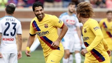 «Барселона» разгромила «Наполи» в товарищеском матче