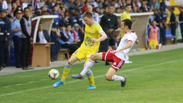 «Астана» едва не упустила победу в Актобе, ведя 2:0