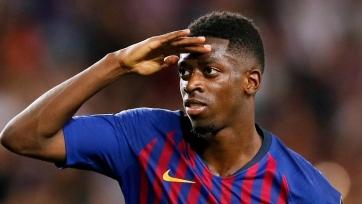 Дембеле счастлив, что «Барселона» подписала Гризманна