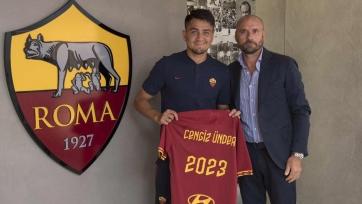 «Рома» продлила контракт с Ундером