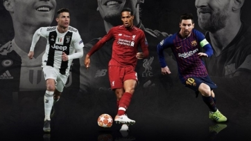 УЕФА назвал вероятных обладателей приза лучшего футболиста сезона 2018/19 гг.