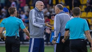 Тренер «Астаны» получил дисквалификацию, на «Актобе» наложен денежный штраф