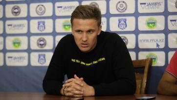 Шпилевский: «Мы гораздо лучше провели вторую половину матча с «Таразом»