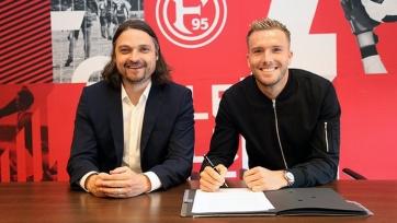 «Фортуна» продлила контракт с бывшим игроком молодежной сборной Германии