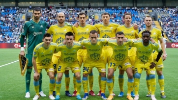 «Астана» на своем поле разгромила БАТЭ в Лиге Европы
