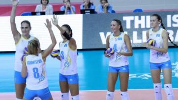 Женская сборная Казахстана по волейболу выиграла на чемпионате Азии