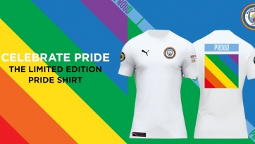 «Манчестер Сити» выпустил футболку в поддержку секс-меньшинств