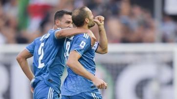 Гол Кьеллини принес «Ювентусу» первую победу в Серии А сезона 2019/2020 гг.