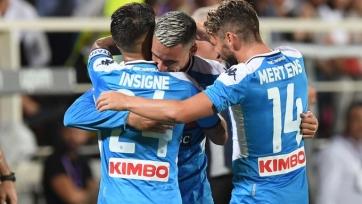 «Наполи» в матче-перестрелке выиграл у «Фиорентины»