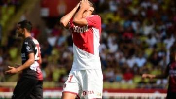 «Монако» не удержал победу в матче с «Нимом»