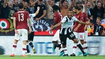 «Удинезе» минимально обыграл «Милан»