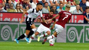 «Удинезе» – «Милан» – 1:0. 25.08.2019. Чемпионат Италии. Обзор и видео матча