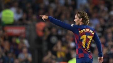 Гризманн забил первый мяч за «Барселону». Видео