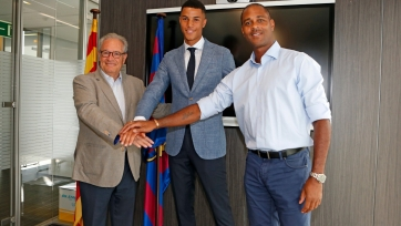 «Барселона» подписала 17-летнего нидерландца