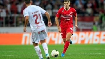 «Спартак» дома проиграл «Браге» и завершил борьбу в Лиге Европы