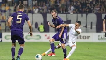 «Марибор» остался без группового турнира Лиги Европы, сумев спастись в домашней игре с «Лудогорцем»