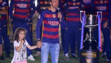 «Барселона» выразила поддержку Луису Энрике. Фото