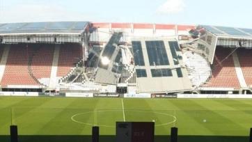 Стала известна причина обрушения крыши на домашнем стадионе «АЗ Алкмар»