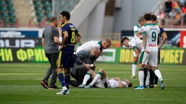 Алексей Миранчук повредил заднюю поверхность бедра