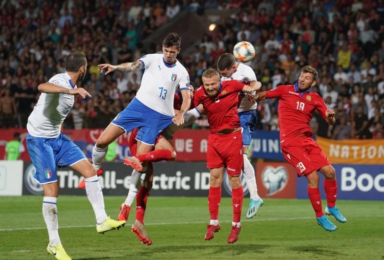 Армения – Италия – 1:3. Текстовая трансляция матча