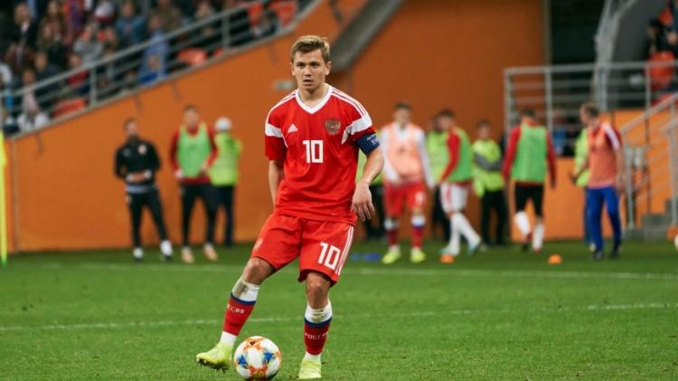 Молодежная сборная России разошлась миром с Болгарией