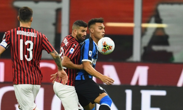 «Милан» – «Интер»  – 0:2. 21.09.2019. Чемпионат Италии. Обзор и видео матча