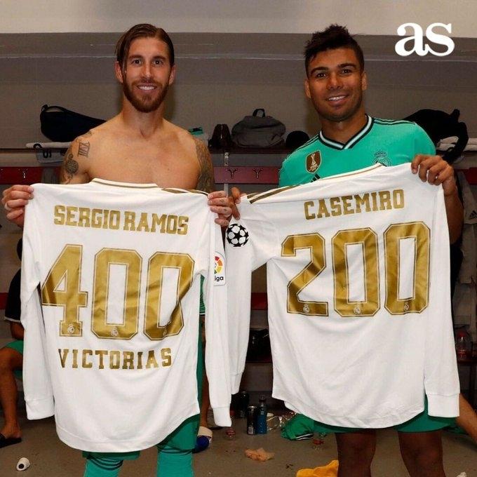 В «Реале» в матче против «Севильи» оказались два юбиляра. Фото