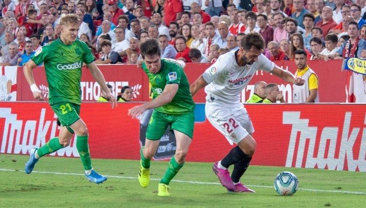«Севилья» – «Реал Сосьедад» – 3:2. 28.09.2019. Чемпионат Испании. Обзор и видео матча