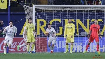 Дубль Бэйла спас «Реал» от поражения в матче против «Вильярреала»