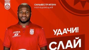 «Динамо» арендовало Игбуна