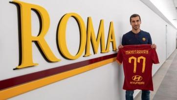 «Рома» объявила об аренде Мхитаряна