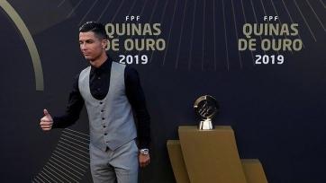 Роналду в десятый раз стал лучшим португальским игроком года