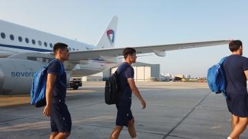 Сборная Казахстана прибыла на Кипр