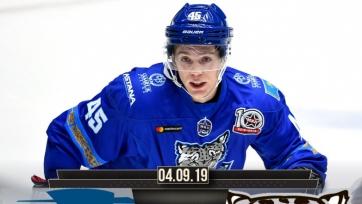 «Снежные Барсы» открыли сезон в МХЛ с поражения