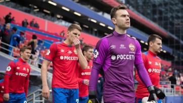 ЦСКА объявил заявку на Лигу Европы