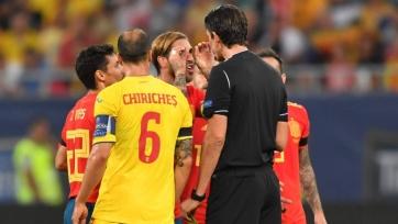 Сборная Испании в меньшинстве отстояла победный результат в матче против Румынии