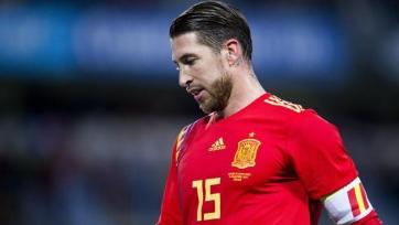 Рамос вошел в топ-10 бомбардиров испанской сборной
