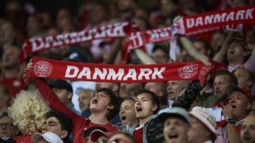 Сборная Дании добилась исторического успеха