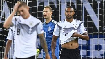 Сборная Германии впервые за 12 лет проиграла дома в отборе на Евро