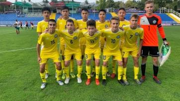 Сборная Казахстана U15 уступила Словакии на Кубке Развития УЕФА