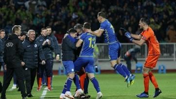Сборная Косово неожиданно обыграла Чехию