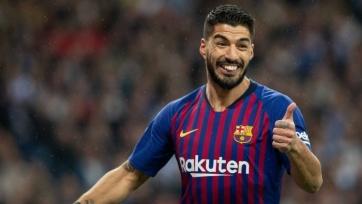 Суарес восстановится к матчу с «Валенсией»