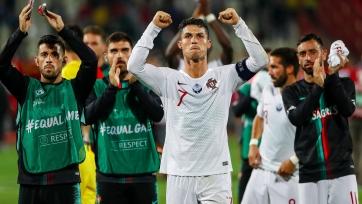 Роналду забил 89-й мяч за сборную. Это второй показатель в мире